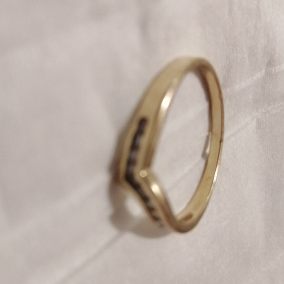 10k with diamond slave ring